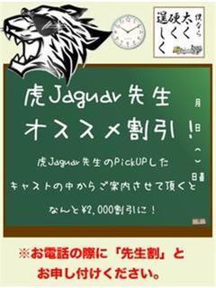 虎JAGUAR先生